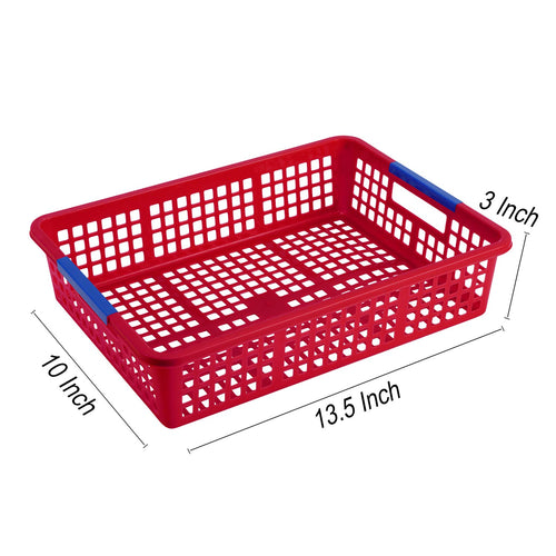 Paper Organizer Basket, W/ 200 Pcs Paper Clips - Pack of 8 - Magicfly