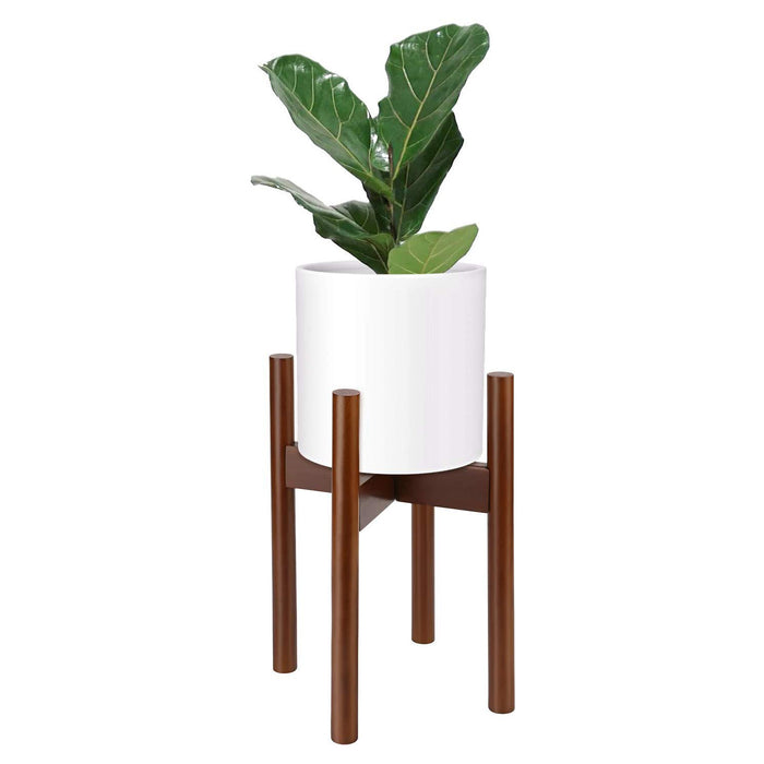 Adjustable Plant Stand-For 8-12 Inch Plant Pots, Brown
