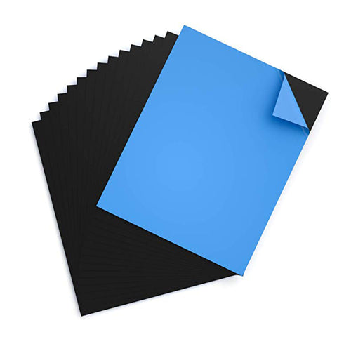 Sheets with Adhesive 8 X 10 Inch,  Pack of 15 Flexible Sticky Magnet Sheet - Magicfly