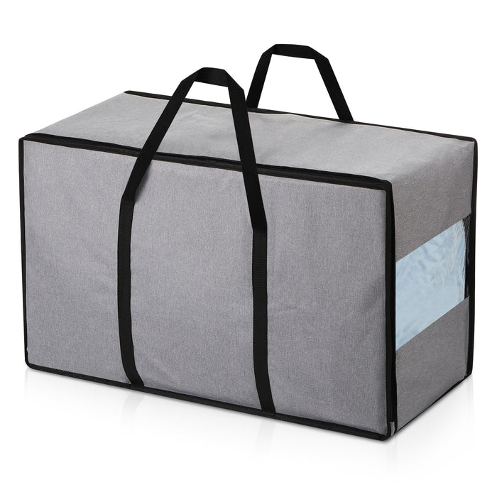 "Waterproof Storage Bag-W/Handle, 28""X 13""X17"", Gray"