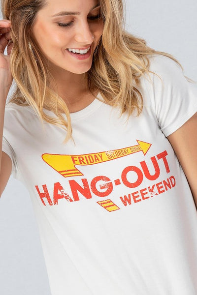 Hang Out Tee - Shop Mondae