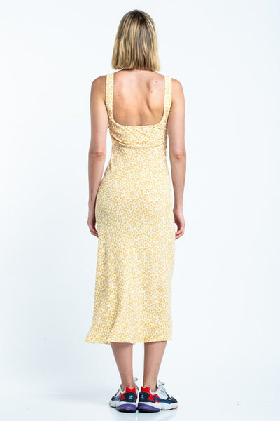 Honey Lemon Midi Dress - Shop Mondae