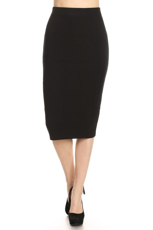 Ari Pencil Skirt - Shop Mondae