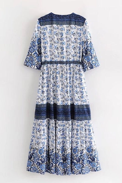 Boho Floral Dress - Shop Mondae