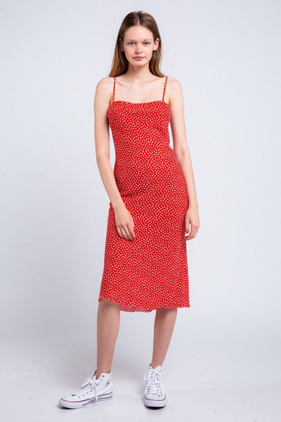 Hot Tamale Midi Dress - Shop Mondae
