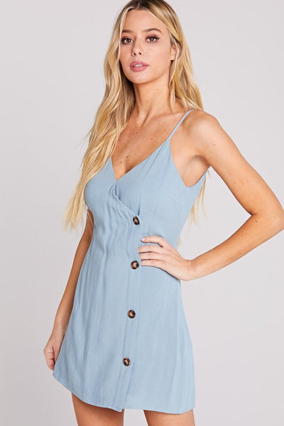 Baby Blu Dress - Shop Mondae
