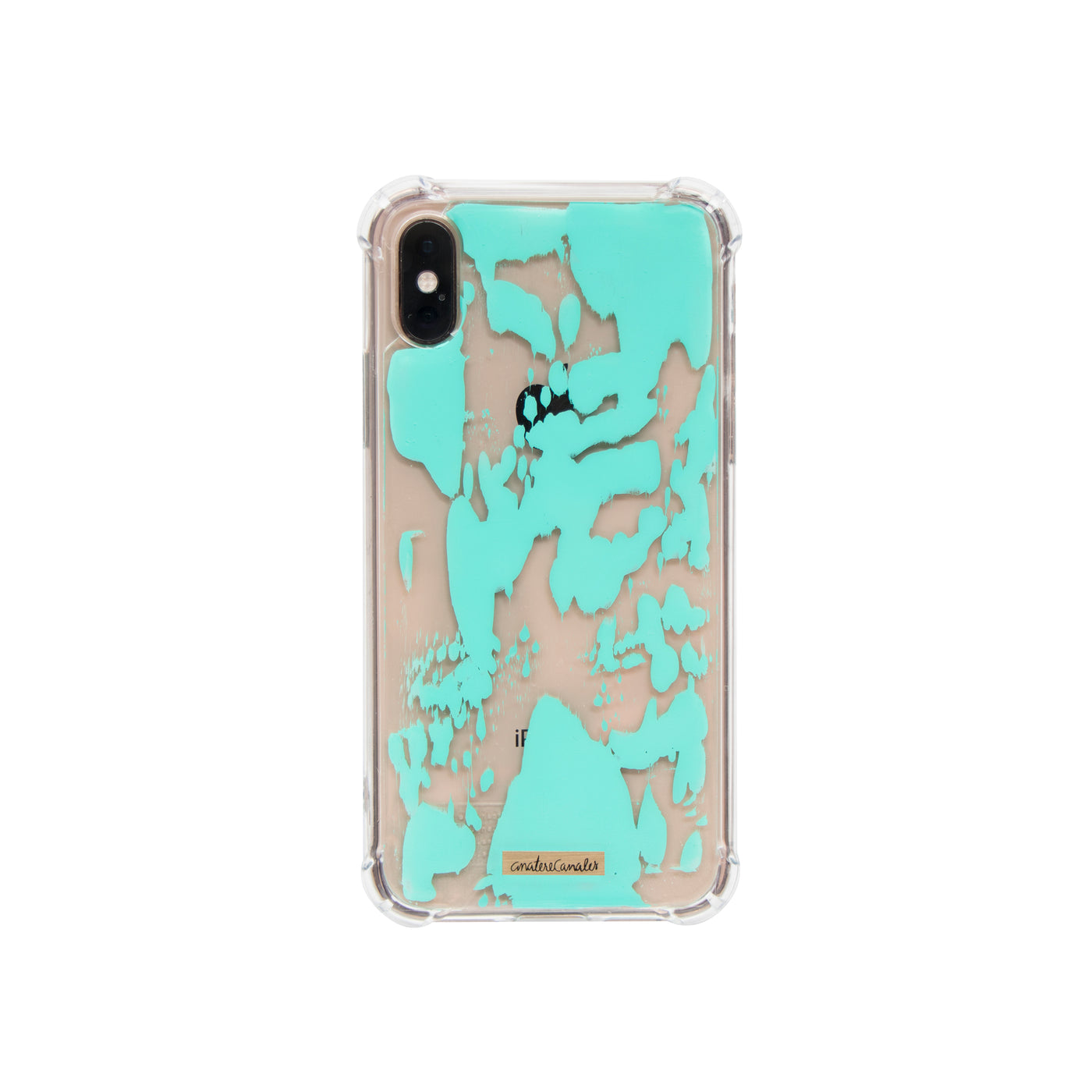 Cyan Vibes Case/Funda para iPhone/Samsung - Ana Tere Canales