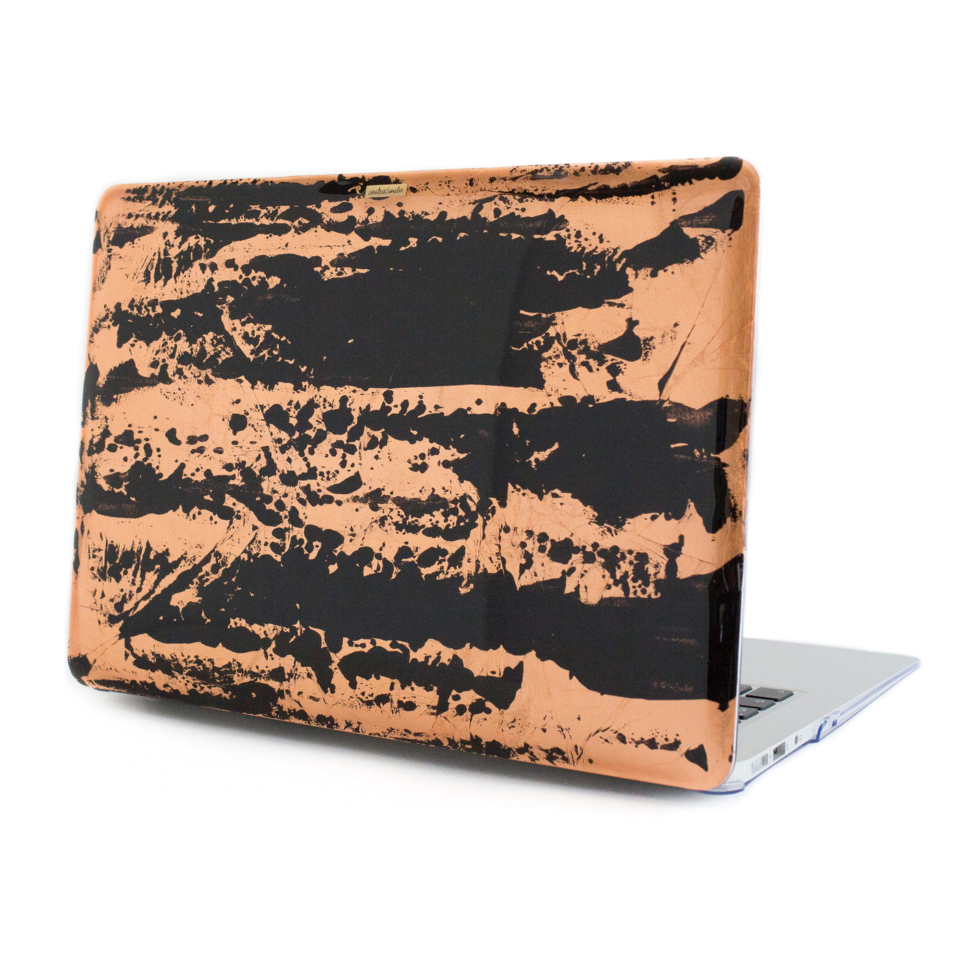 Black Rose Gold Macbook Case - Ana Tere Canales