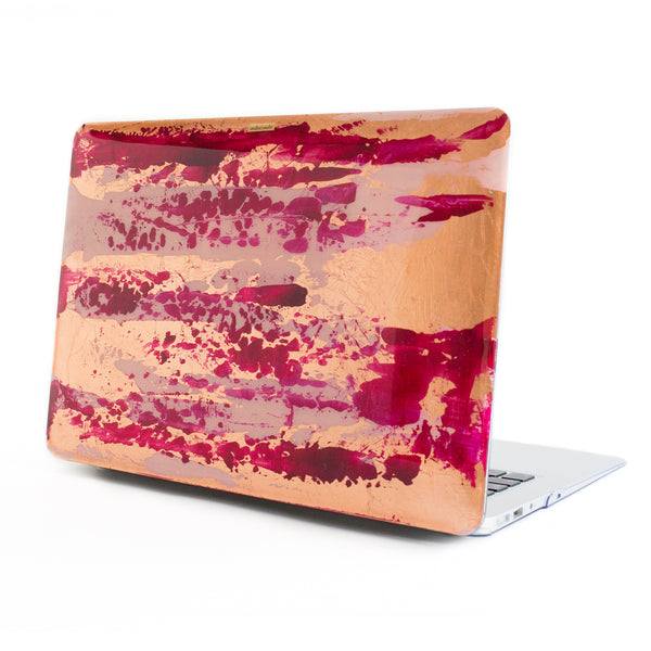 Magenta Rose Gold Macbook