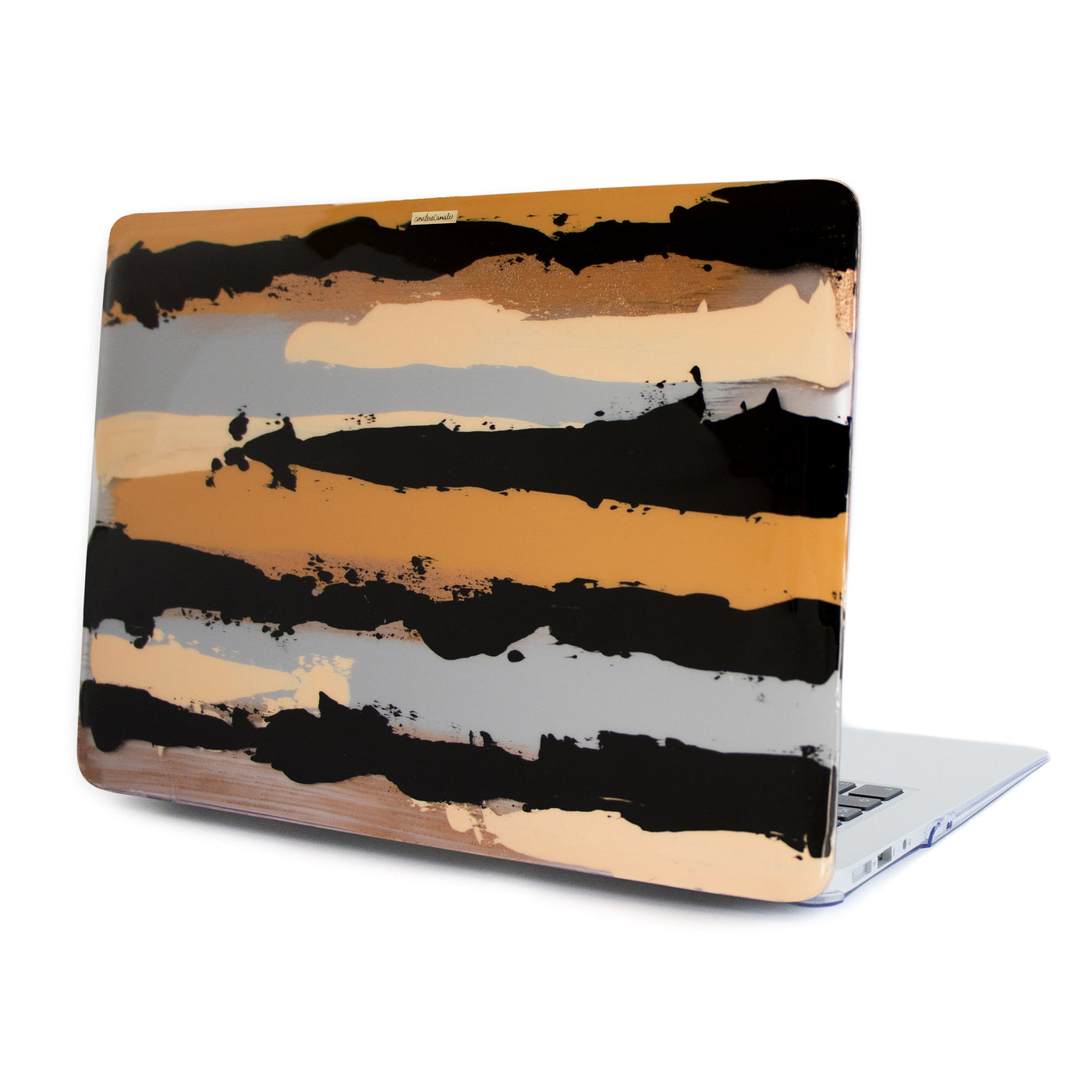 Golden Sepia Swing Macbook Case - Ana Tere Canales