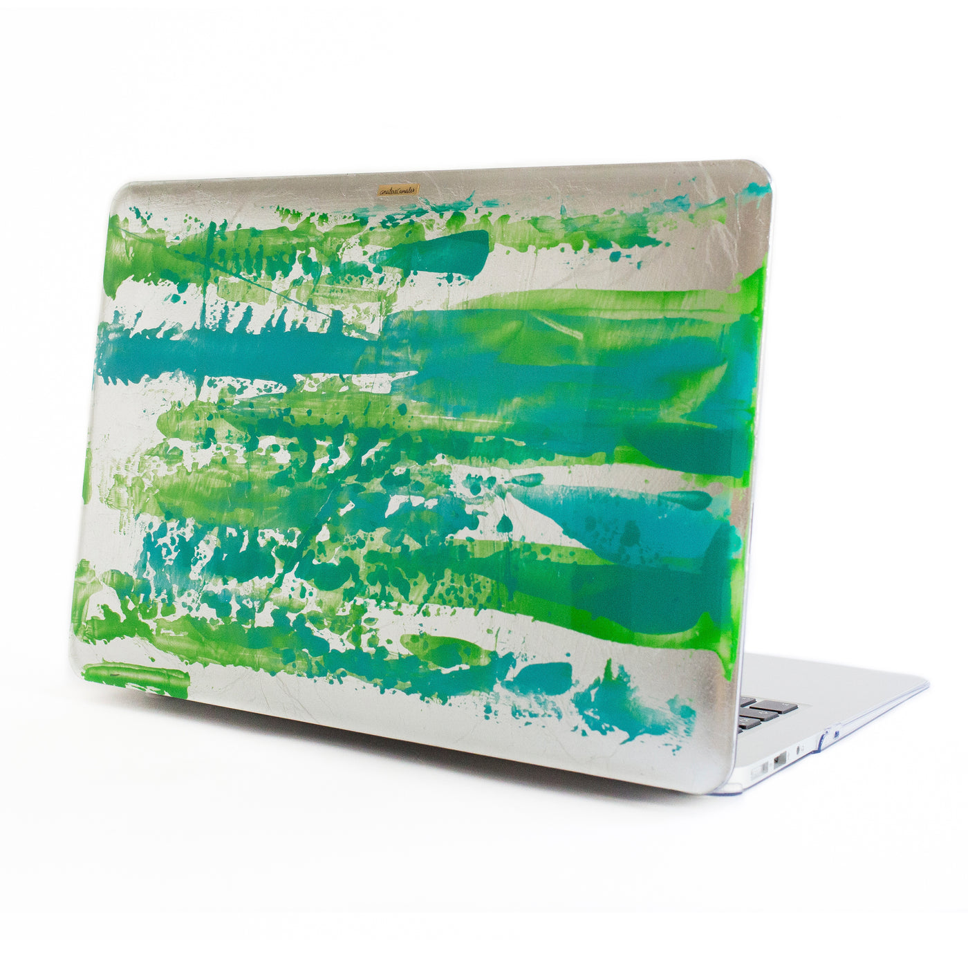 Turquoise Silver Rush Macbook