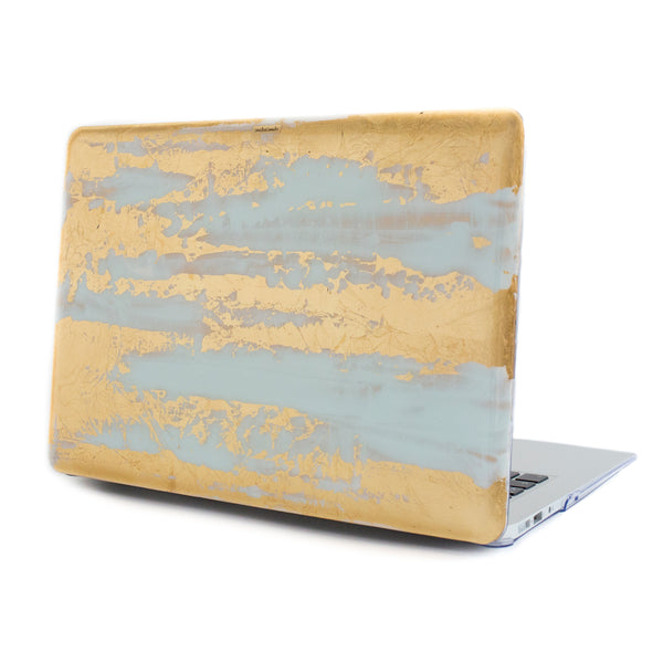 White Gold Rush Macbook - Ana Tere Canales