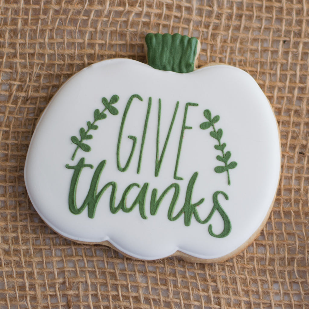 Give Thanks with Branches Stencil