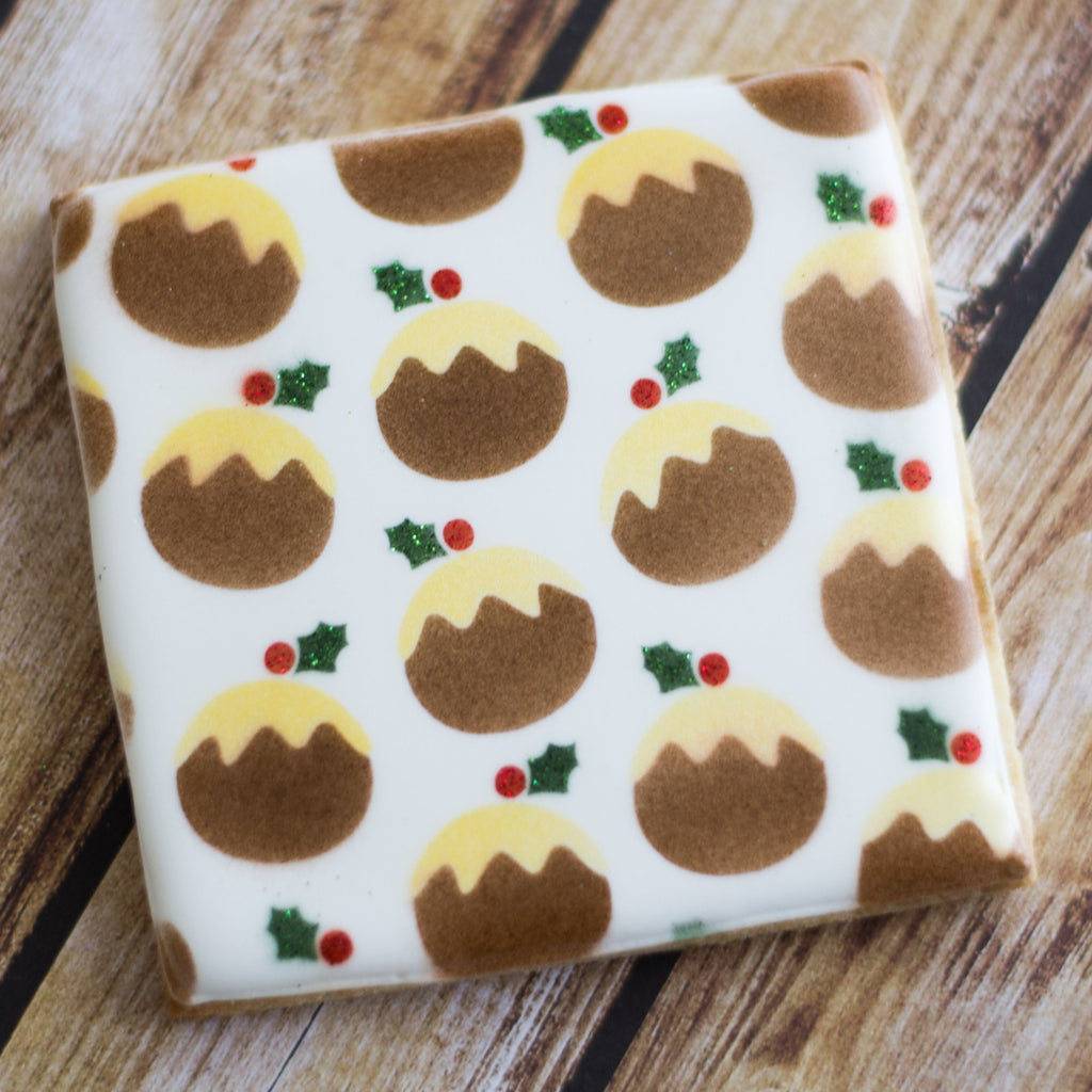 Christmas Puddings - 4 piece set