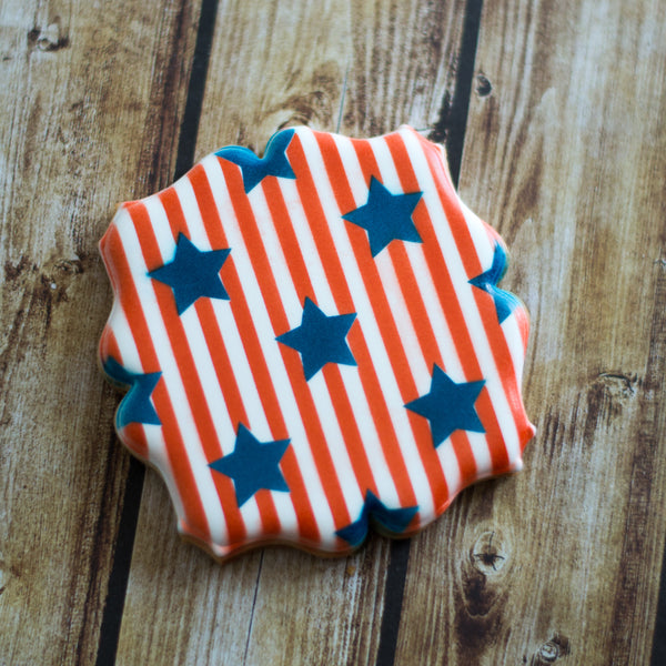 Stars & Stripes 2 Piece Stencil Set