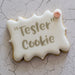 """Tester"" Cookie Mini Stencil - Customer Thank You Collection"