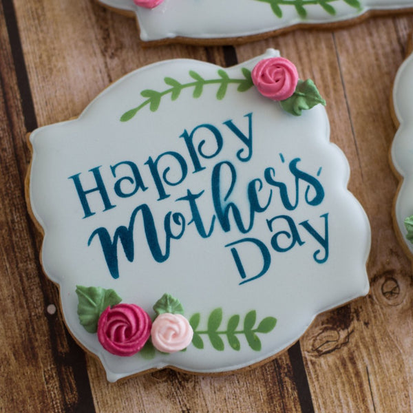 Happy Mother's Day Stencil - 3 sizes