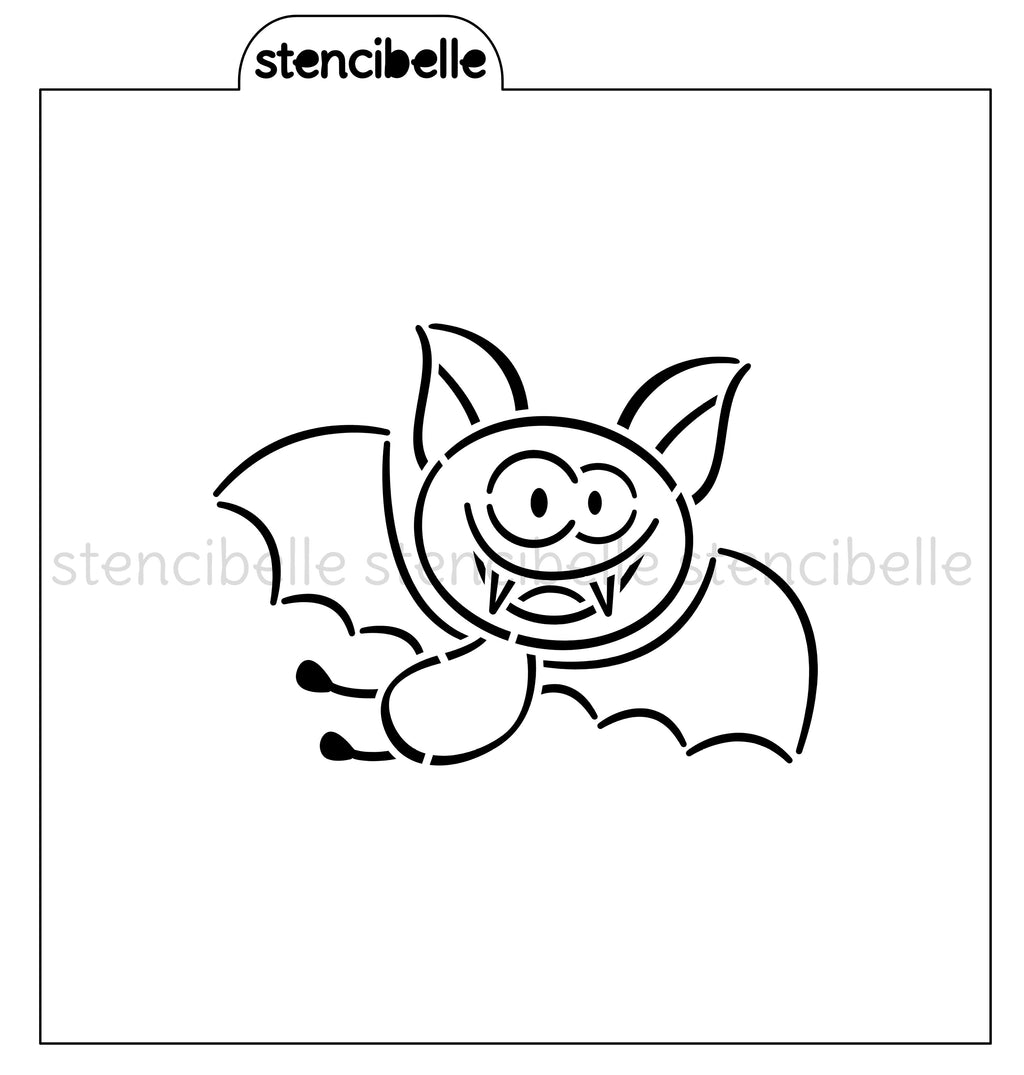 PYO Flying Bat Stencil