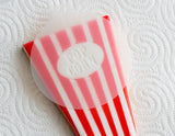 Popcorn Cookie Box Cutter & Stencil - 6 Piece Set