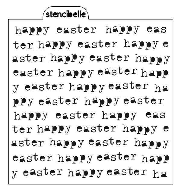 Vintage Typewriter - happy easter