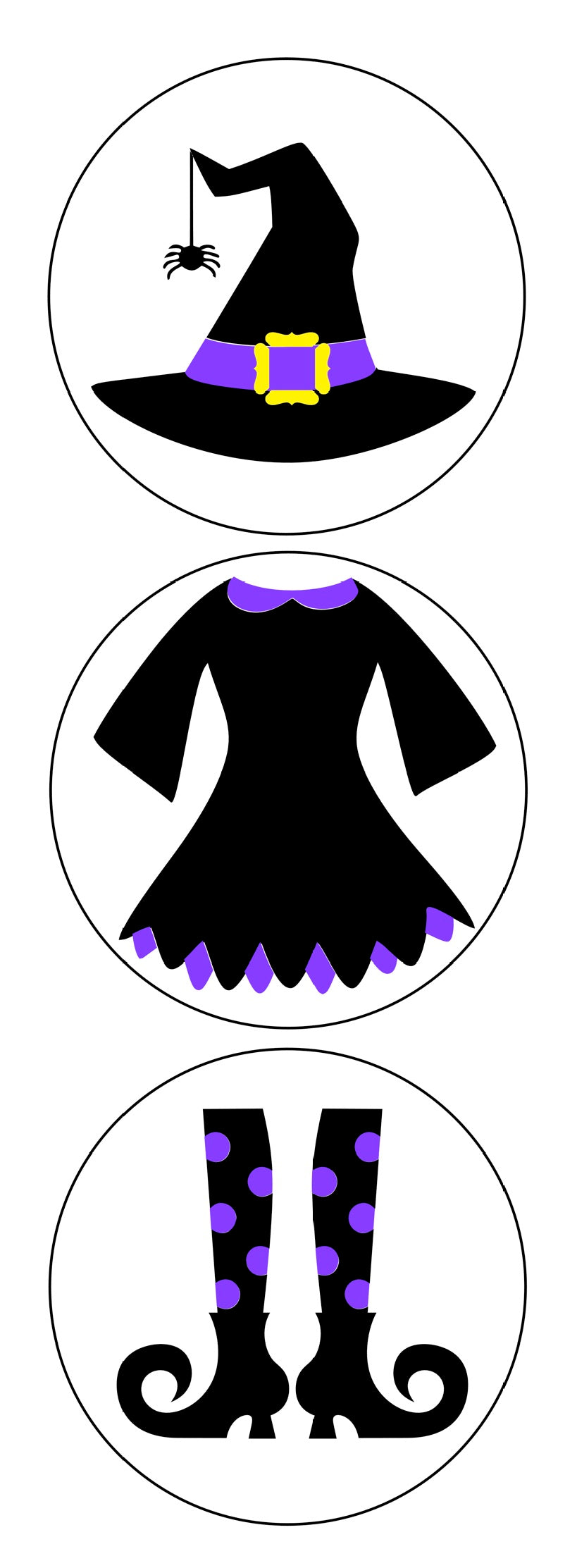 Build a Witches Costume - 3 Designs available