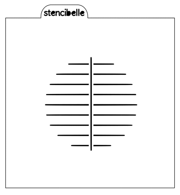 BBQ Grill Stencil - 3 sizes avaiable