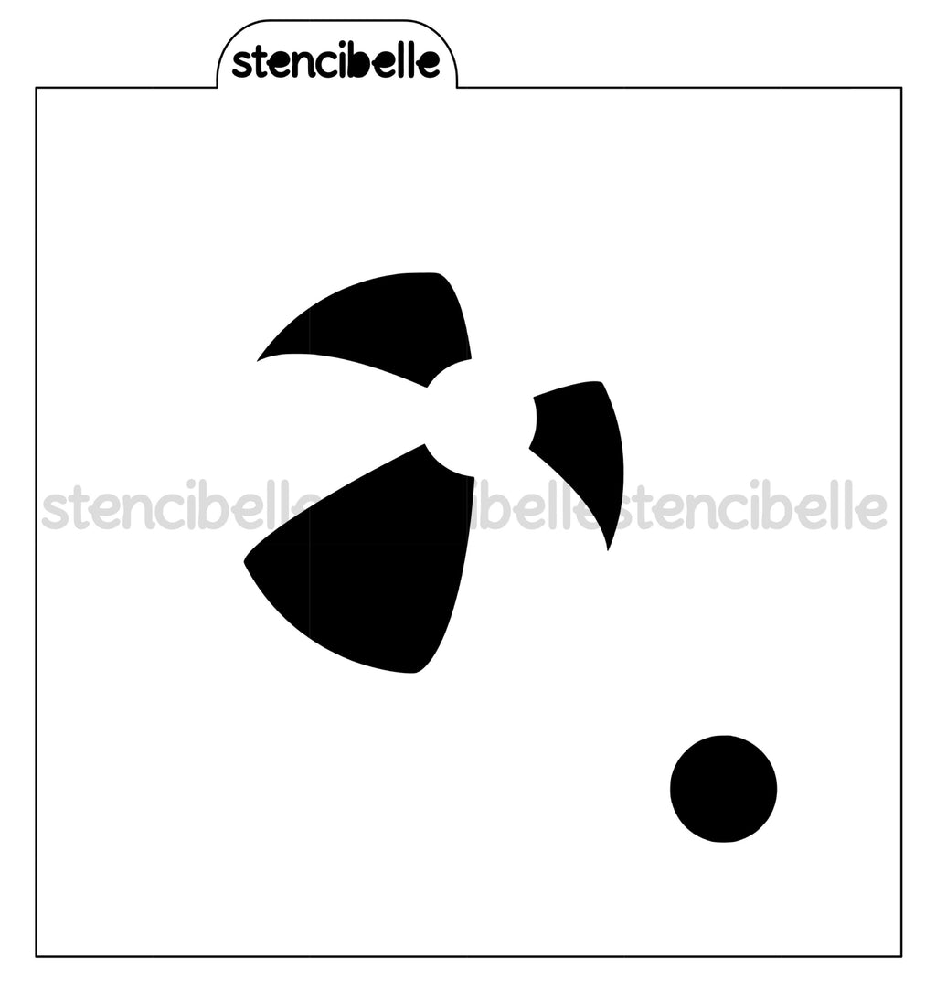 Beach Ball Stencil - 2 sizes
