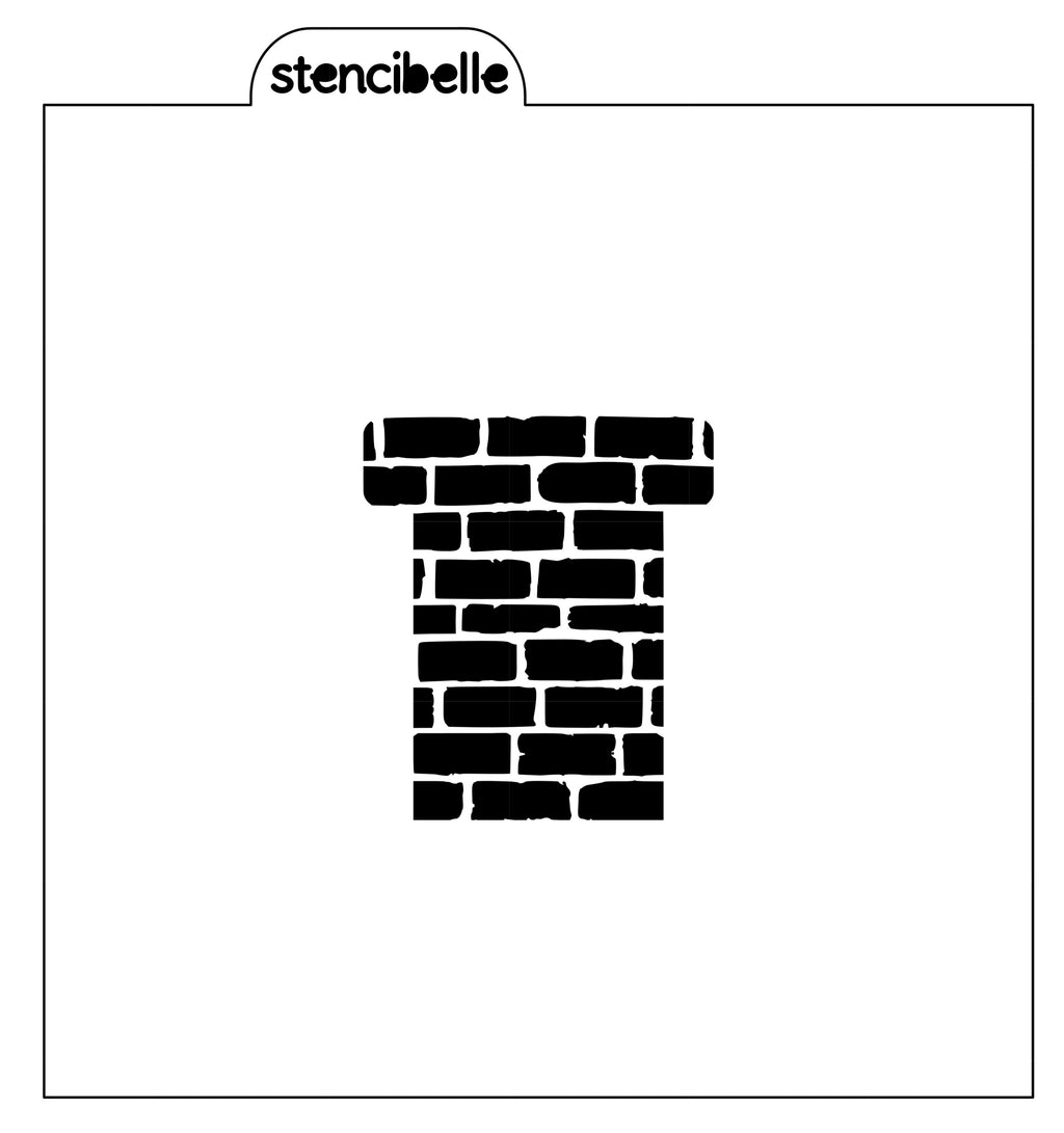 Chimney Stencil - 2 sizes available