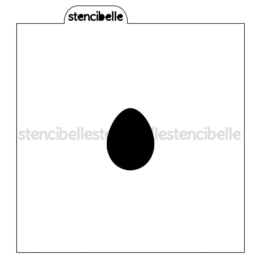 Egg Blocker Stencils - 5 sizes available