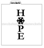 Snowflake Cookie Stick Collection - HOPE Stencil