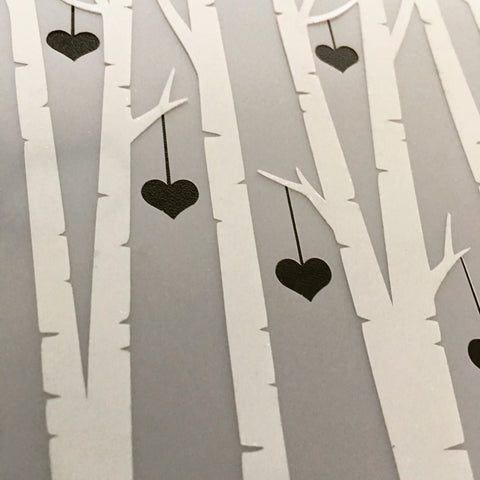 Birch Tree COMPANION Stencils - 4 designs