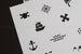 Build Your Own Pirate Map - 2 Piece Stencil Set