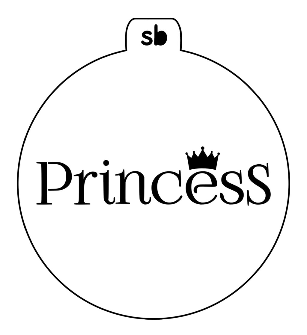 Princess Mini Stencil