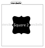 Plaque Stencils and Blocker Sets - 12 designs & Packs available