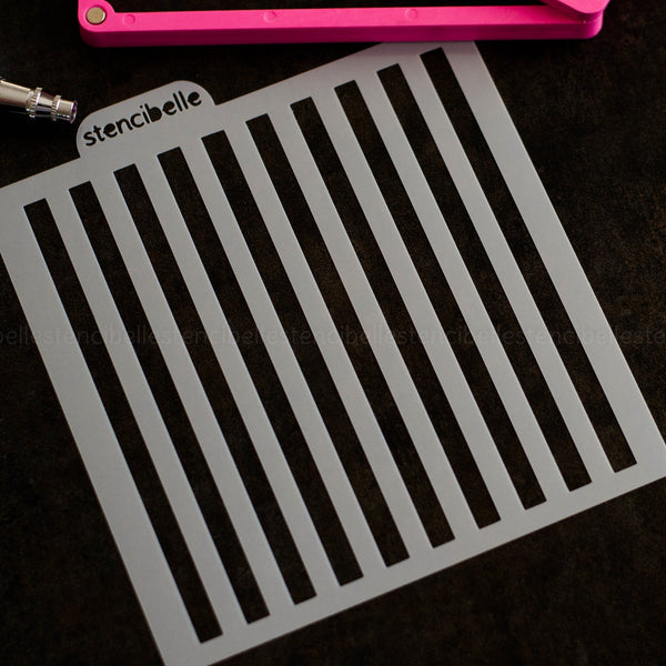 Regular Stripe Stencil
