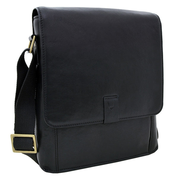 Hidesign Aiden Medium Leather Messenger Cross Body Bag - Epethiya