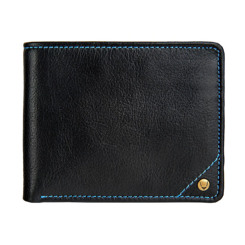 Hidesign Angle Stitch Leather Multi-Compartment Leather Wallet