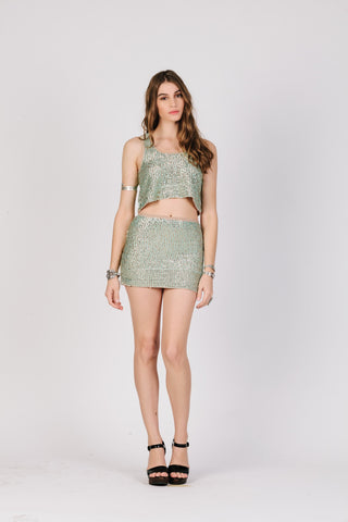 Glitz & Glam Mini Skirt - Epethiya