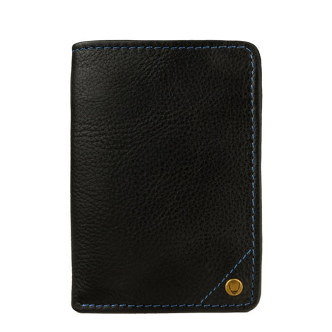 Hidesign Angle Stitch Leather Slim Trifold Wallet - Epethiya