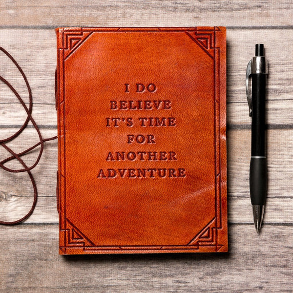 Another Adventure Handmade Leather Journal - Epethiya