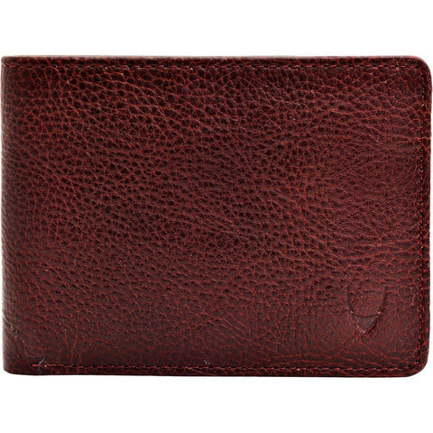 Giles Vegetable Tanned Leather Wallet with Coin Pocket