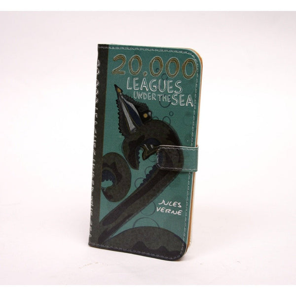 20,000 Leagues phone flip case wallet for iPhone and Samsung - Epethiya