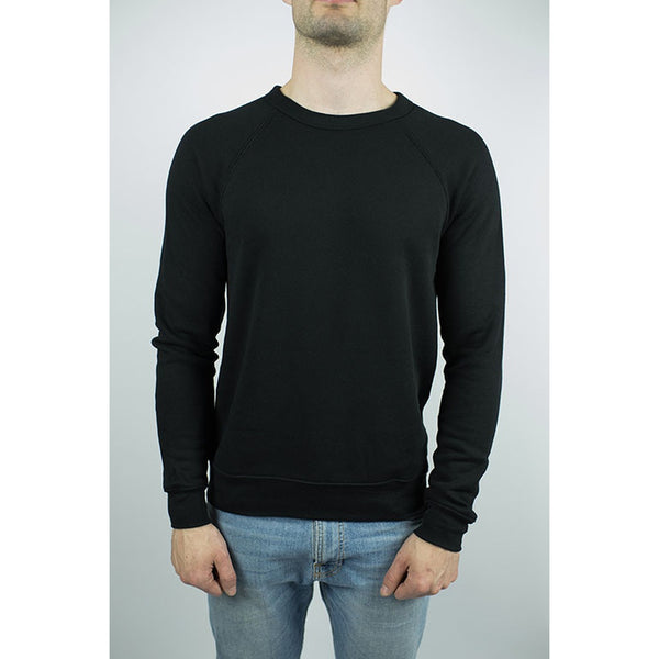 The Night Bay Raglan Sweater in Black - Epethiya
