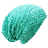 Wave Crochet Lightweight Beanie Hat - Epethiya