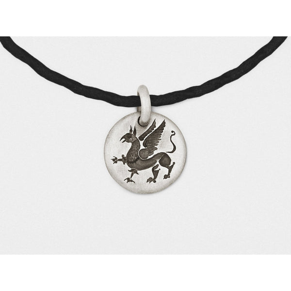 Griffin Charm Bracelet in Sterling Silver - Epethiya