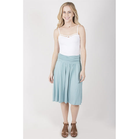 Pocket Midi Skirt - Epethiya