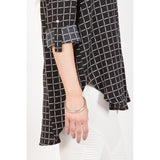 Grid Pattern Blouse - Epethiya