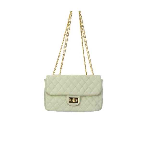 Women's Handbag Leather Diamond Stitch - Epethiya