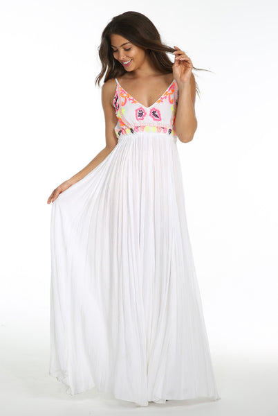 SUNSET CANYON BACKLESS MAXI - Epethiya
