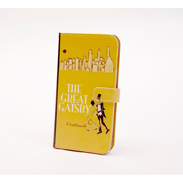 Great Gatsby phone flip case wallet for iPhone and Samsung - Epethiya
